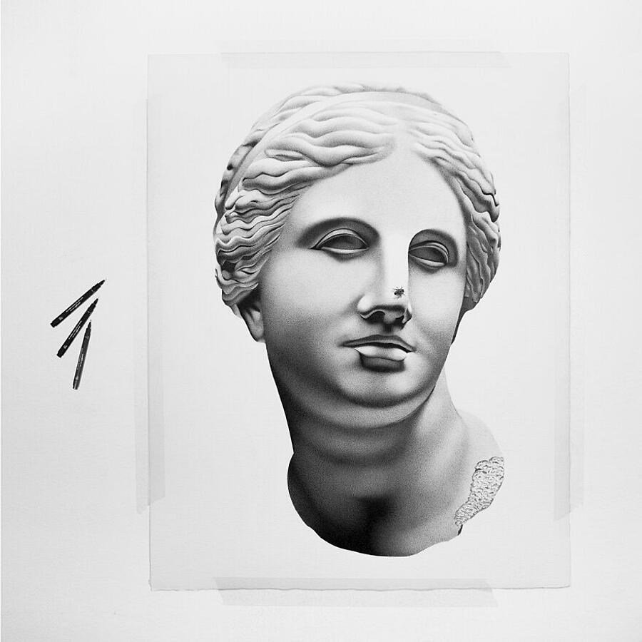 Disegni A Penna Iperrealistici Alessandro Paglia