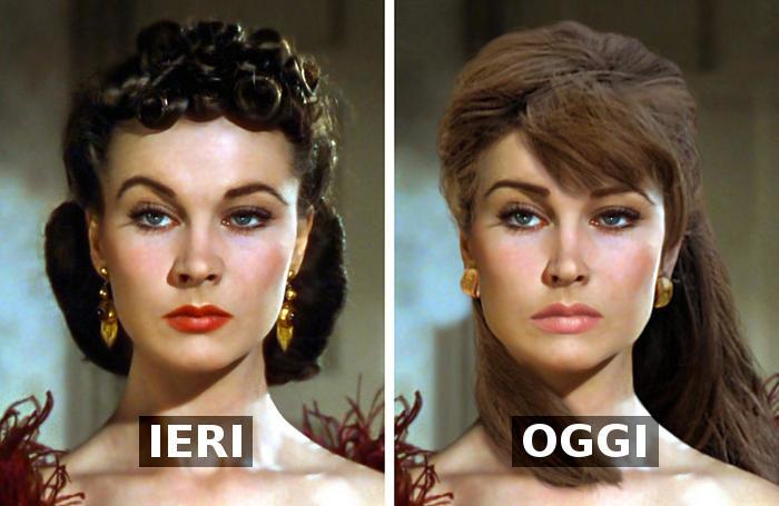 Come sarebbero le bellezze del XX secolo con un look dei nostri giorni (seconda parte)