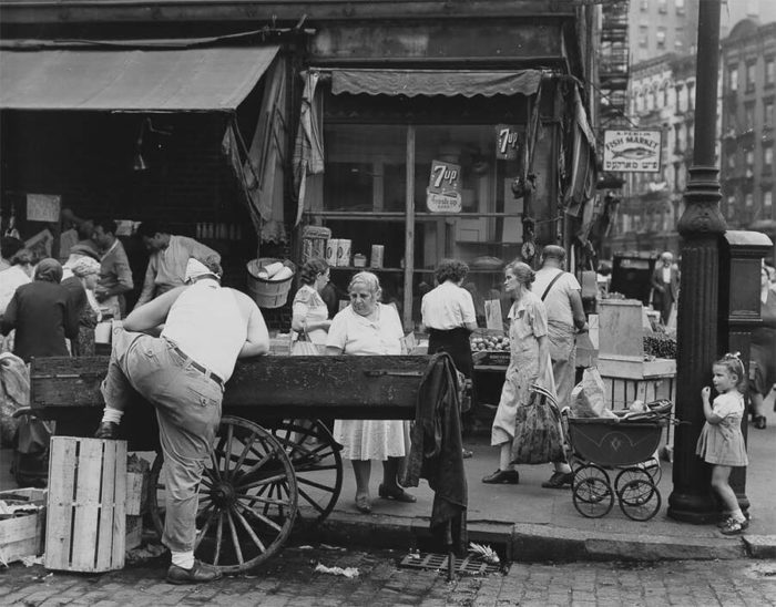 La New York degli anni '40 in 38 bellissime foto vintage in bianco e nero