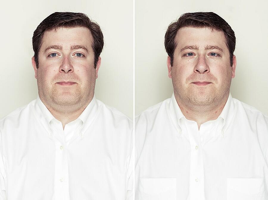 Foto Composite Volti Simmetrici Alex John Beck