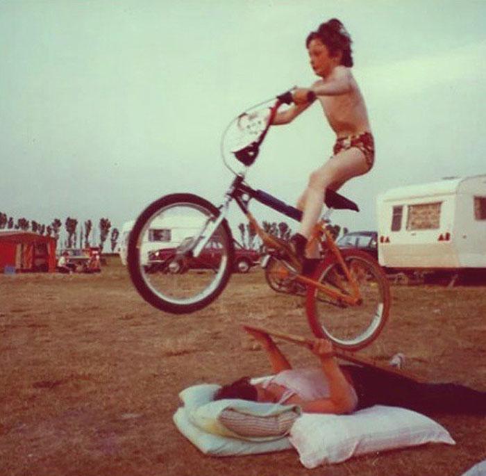 Foto d'Epoca Genitori Figli