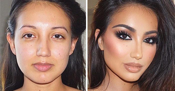 35 foto illuminanti mostrano il vero potere del make up