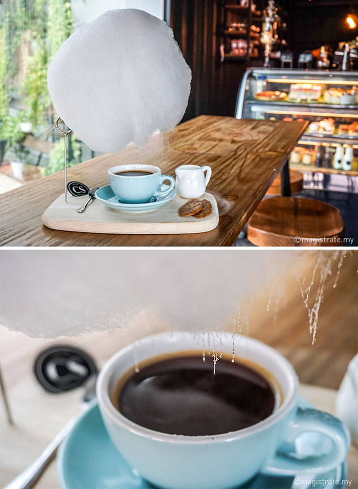 Nuvola Di Zucchero Filato Caffè Mellower Coffee Cina