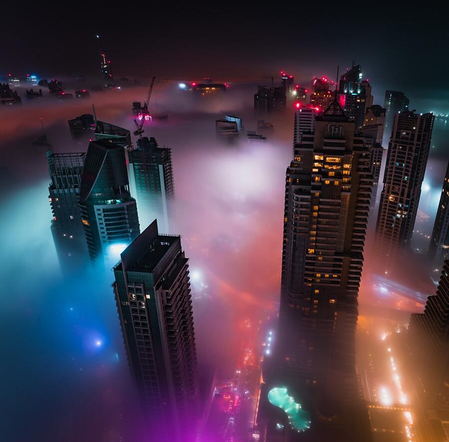 Foto Paesaggi Urbani Notturni Teemu Jarvinen
