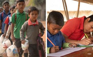 Scuola per bambini poveri si fa pagare dalle famiglie in plastica anziché soldi, e il paese si è trasformato