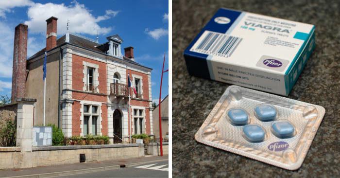 Sindaco in Francia distribuisce pillole di Viagra per incentivare la procreazione