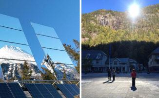 In questa città norvegese circondata dalle montagne non arriva il sole per 5 mesi, risolvono con degli specchi
