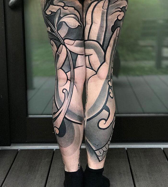 Tatuaggi Gambe