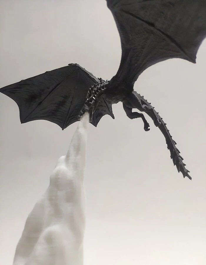 Lampada drago sputafuoco Game of Thrones, Il Trono di Spade