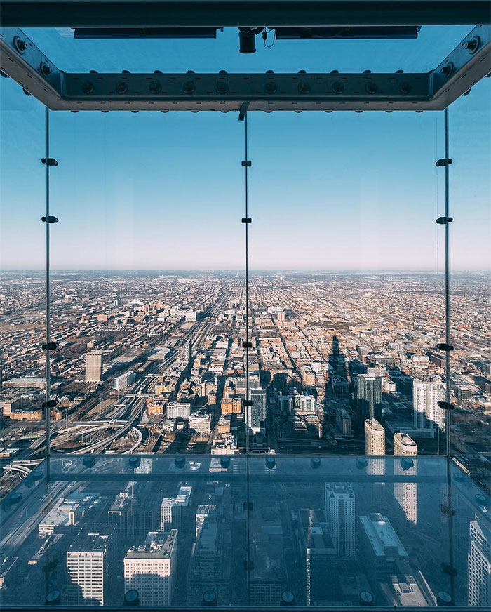 Incidente Willis Tower Skyedeck Chicago
