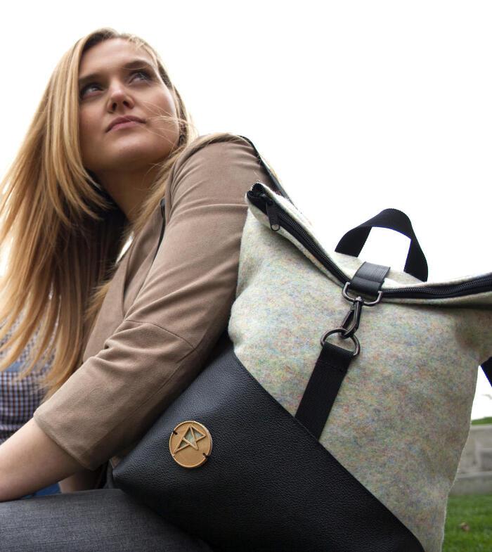 Zaini borse e accessori ecosostenibili di Feeling Felt