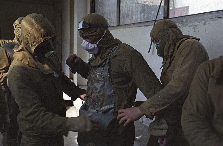 Foto Rare Disastro Chernobyl