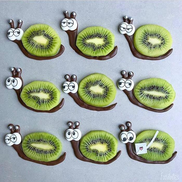Personaggi Di Frutta E Verdura Food Art Foodbites