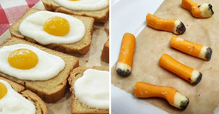 Sono dessert ma sembrano tutta un'altra cosa, la food art di Ben Churchill (nuove foto)