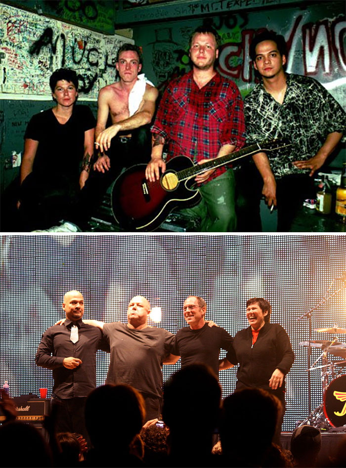 Band Iconiche Foto Prima E Dopo Successo