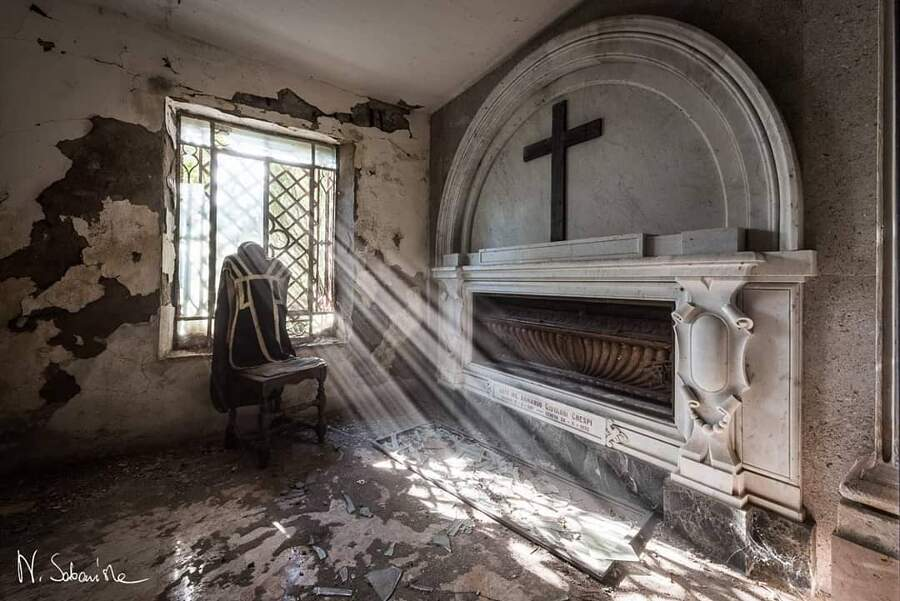 La malinconica bellezza dei luoghi abbandonati, fotografata da Natalia Sobańska