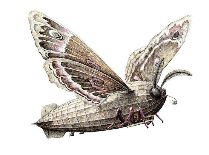 Illustrazioni Surreali Animali Redmer Hoekstra