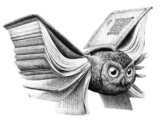 Illustrazioni di animali che si fondono con elementi inaspettati