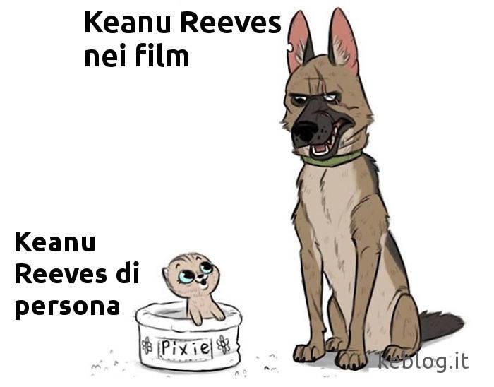 Keanu Reeves meme keblog.it