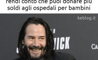 16 tra i migliori meme su Keanu Reeves