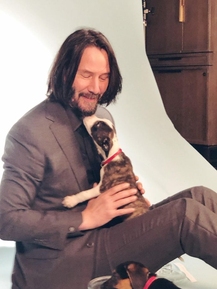 Keanu Reeves Non Tocca Le Fan