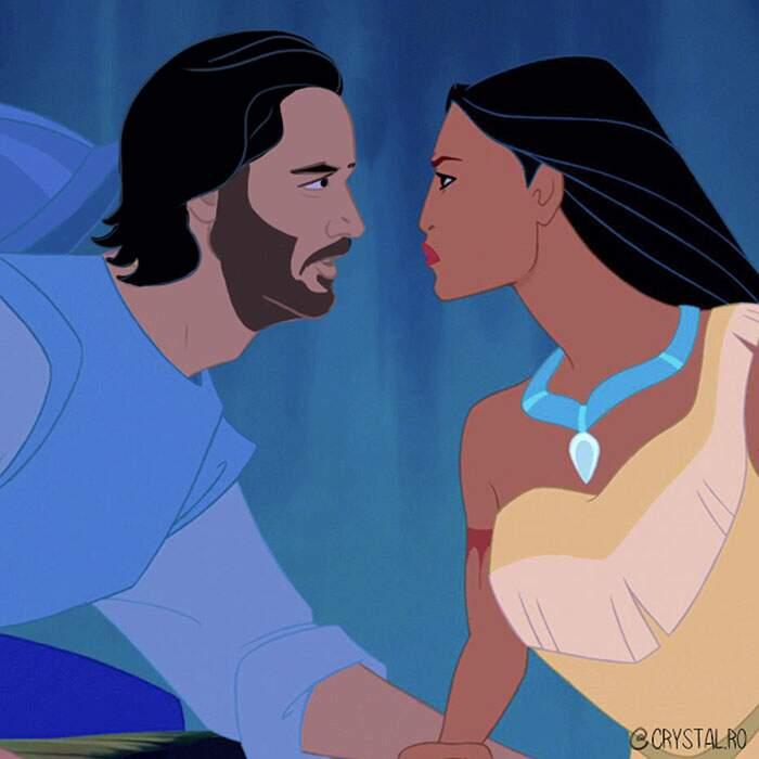Keanu Reeves principe Disney
