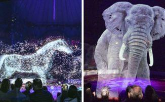 Circo tedesco usa ologrammi al posto di animali veri per uno spettacolo senza crudeltà