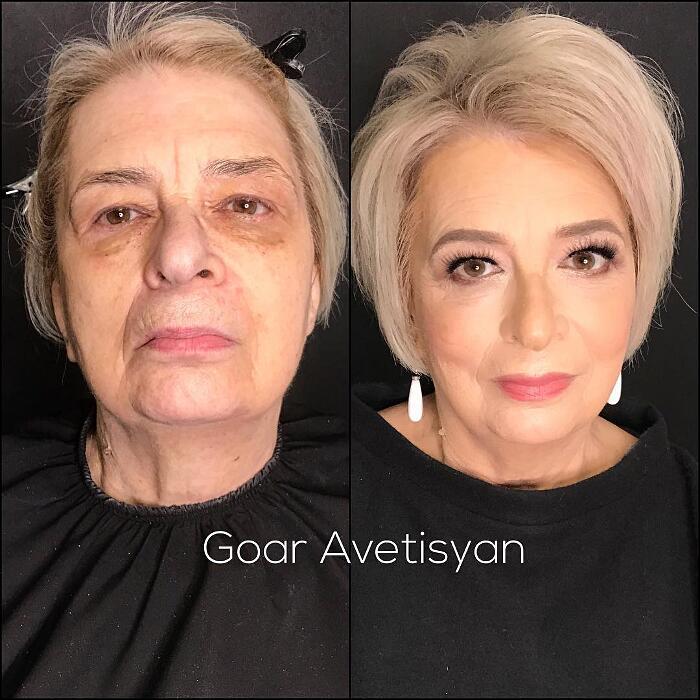 Prima E Dopo Make Up Goar Avetisyan