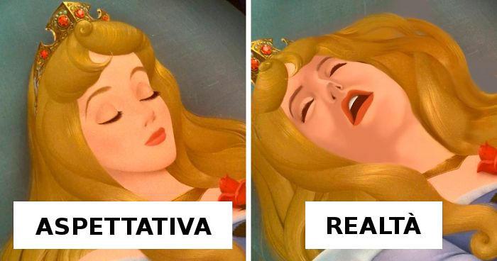 Artista immagina le principesse Disney in un modo più realistico