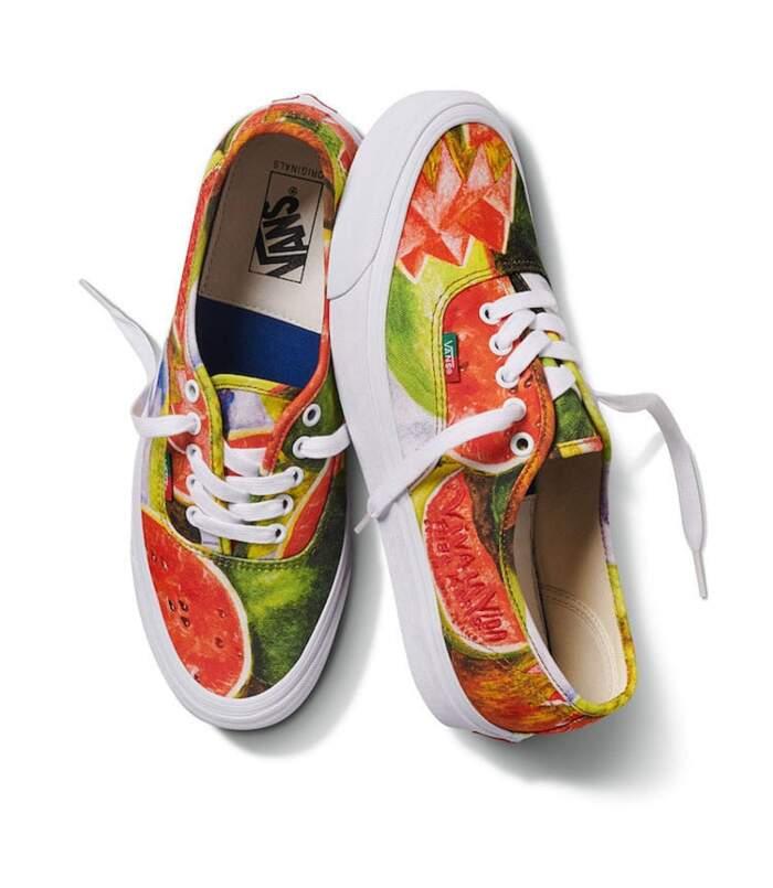 Collezione di scarpe Frida Khalo della Vans