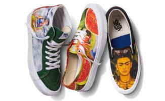 La Vans ha creato una collezione di scarpe ispirata a Frida Khalo come tributo alla grande pittrice
