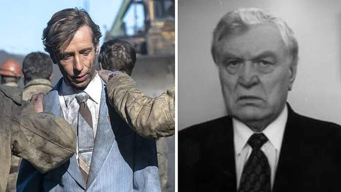 Foto degli attori della serie TV Chernobyl confrontate con i veri personaggi