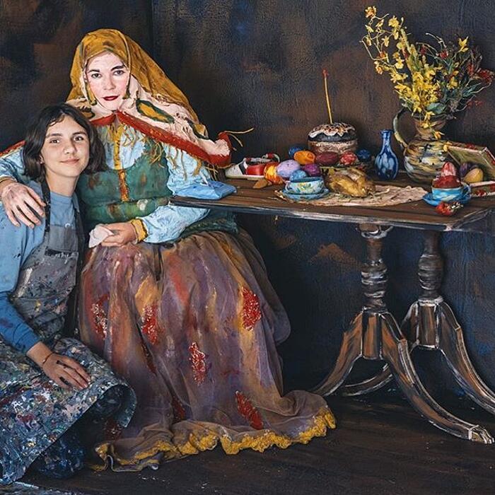 Bambina Prodigio Living Art Elisabeth Anisimow