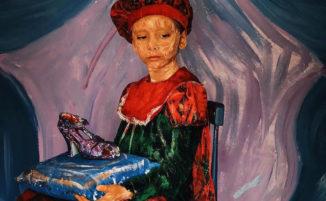 """12enne prodigio crea incredibili lavori di """"Living Art"""""""
