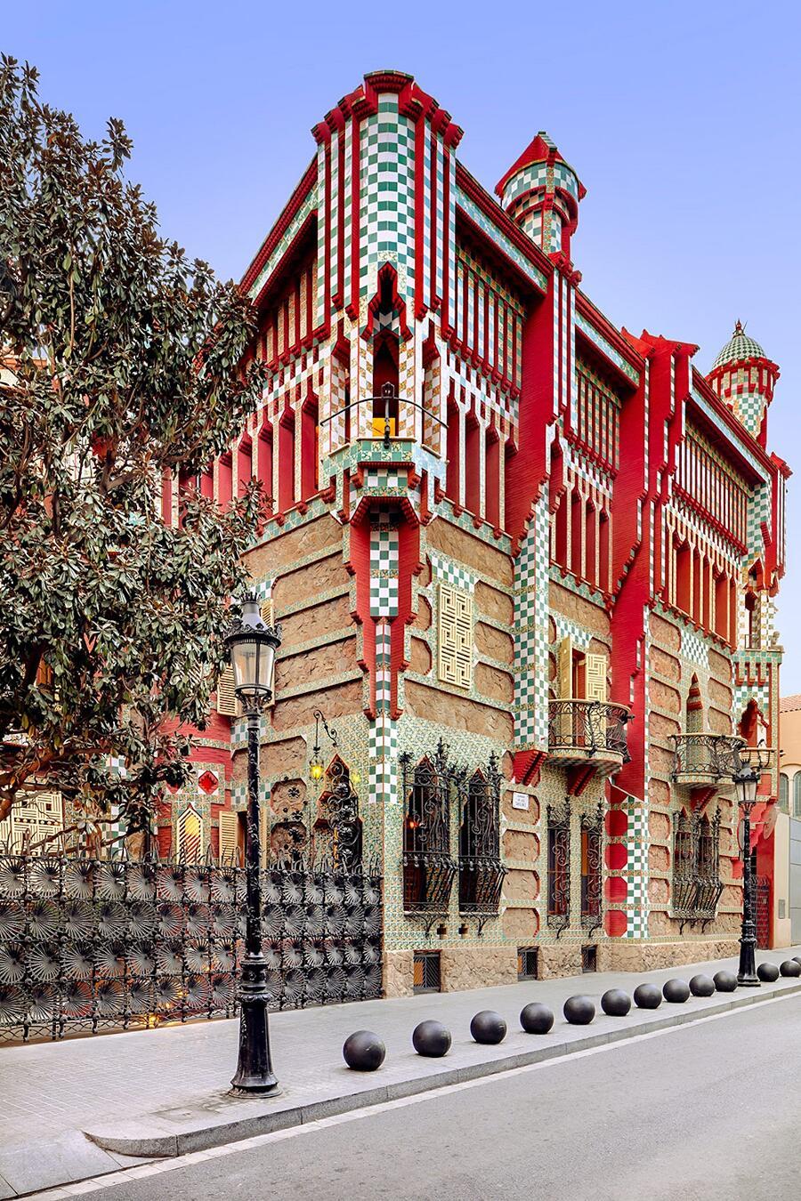 Casa Vicens Antoni Gaudí Foto David Cardelús