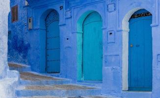 """La bellezza mozzafiato di Chefchaouen, nota come la """"Perla Blu"""" del Marocco"""