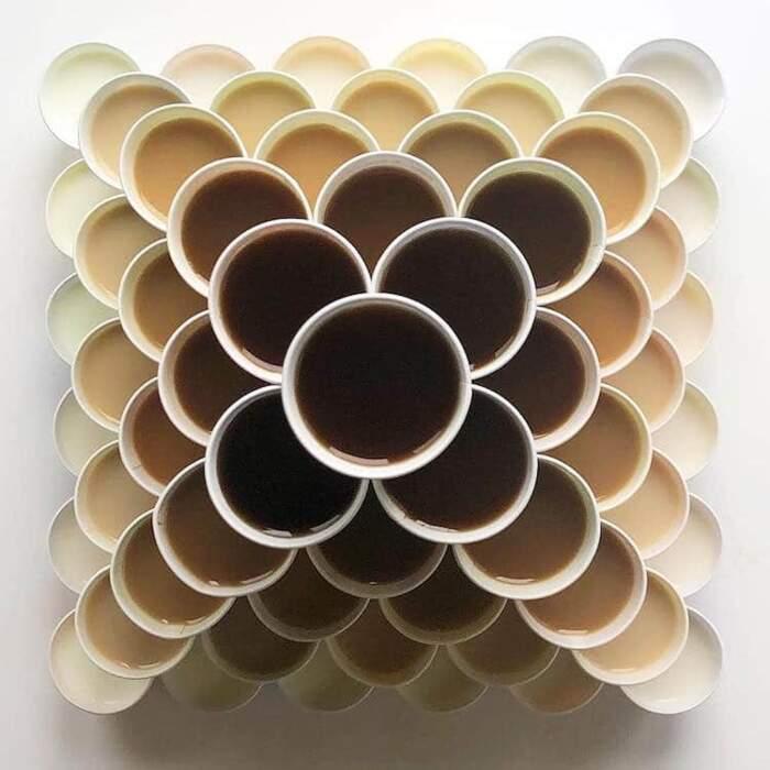 Taglia e compone cibi che diventano artistiche illusioni ottiche, Adam Hillman