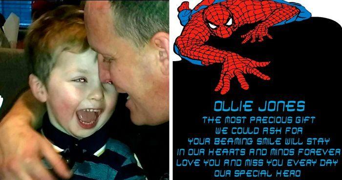 Papà in lutto vuole mettere Spider Man sulla tomba del figlio di 4 anni ma la Disney non gli dà il permesso