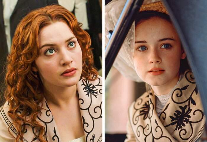 Film diversi che usano gli stessi costumi di scena