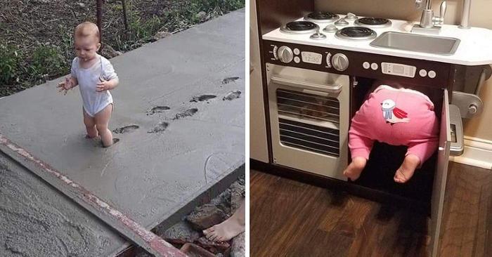 Quando i genitori non sanno se ridere o piangere: 19 foto divertenti di bambini