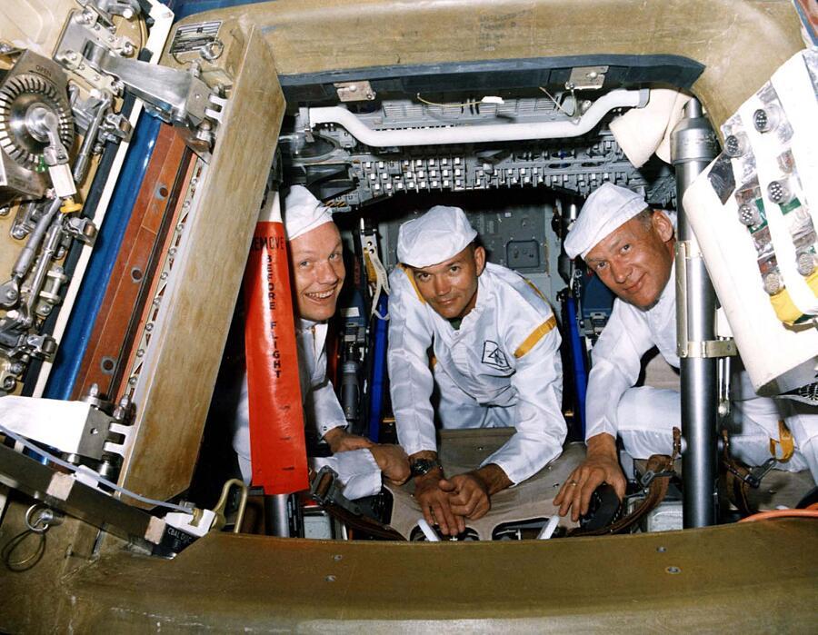 Rare Foto Storiche Preparazione Apollo 11