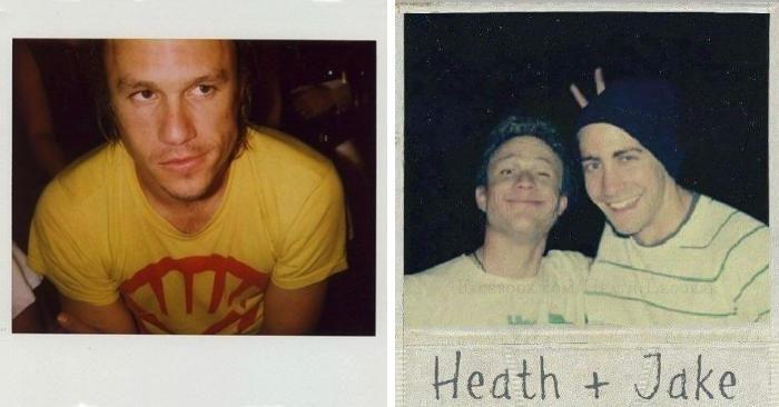 27 rare e sorprendenti Polaroid di Heath Ledger