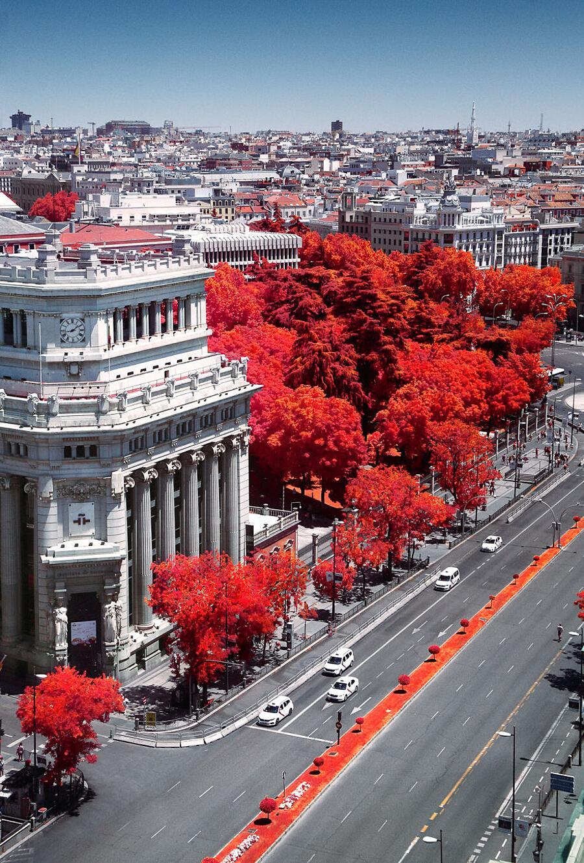 Foto Di Madrid Ad Infrarossi Yann Philippe