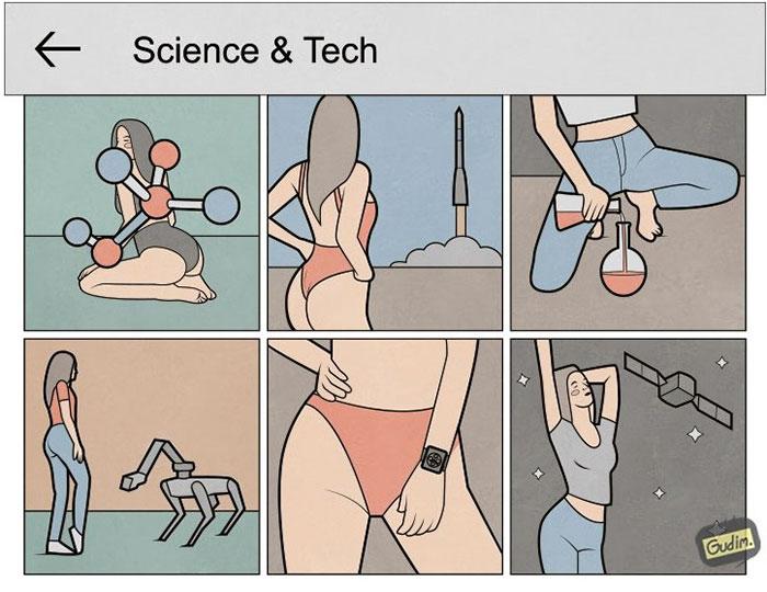 Fumetti Satira Instagram Anton Gudim