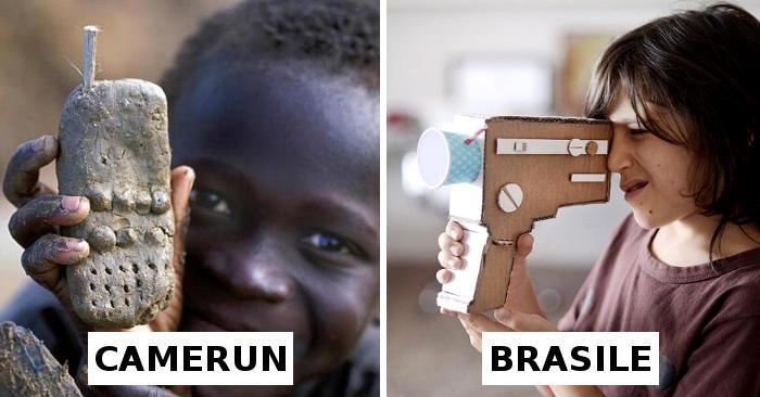 I bambini dimostrano che la creatività non ha limiti, 17 foto dal mondo di giocattoli fatti a mano