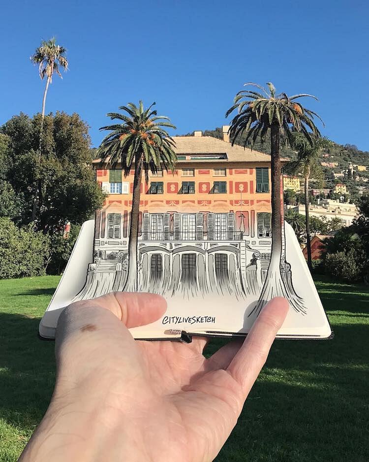 Illustrazioni Fondono Fantasia E Realtà Pietro Cataudella