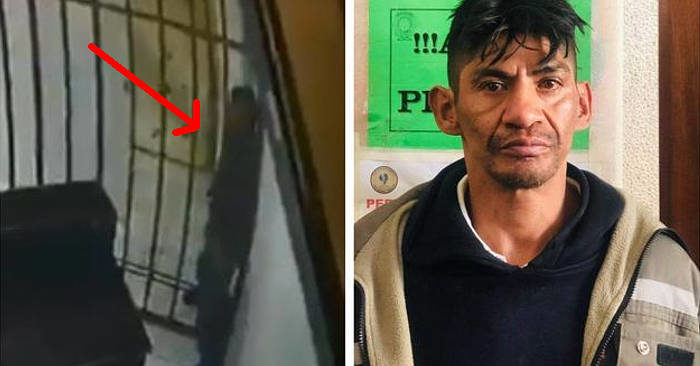Detenuto evade passando tra le sbarre della sua cella, le telecamere di sicurezza mostrano come ha fatto