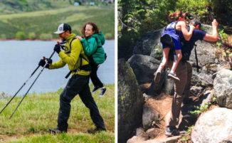 Lei non può camminare, lui è non vedente, fanno lavoro di squadra e scalano insieme montagne
