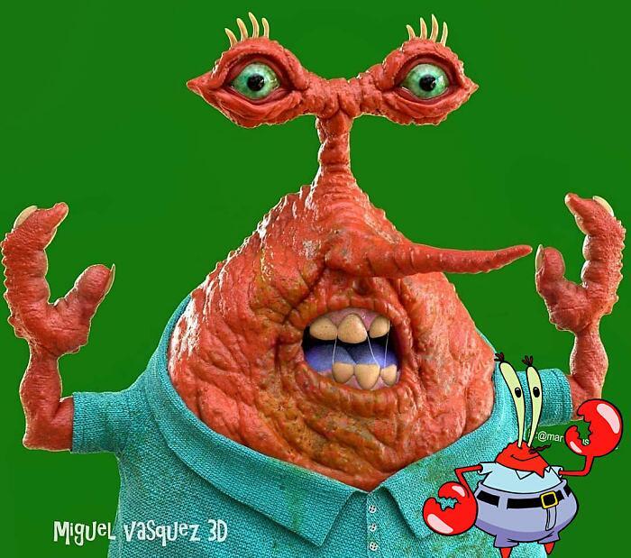 Personaggi Cartoni animati Diventano Reali Miguel Vasquez