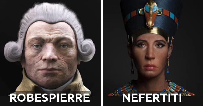 Scienziati ricostruiscono 32 volti di personaggi dell'antichità da Tutankhamon a Gesù, e alcuni ti sorprenderanno